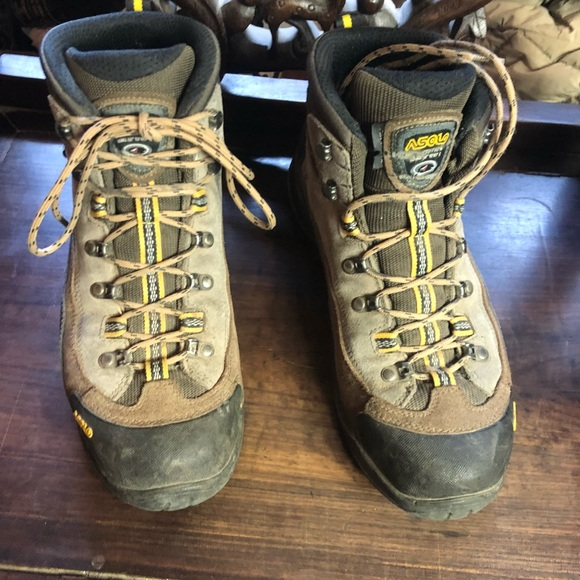 aef3966f02266 very nice Asolo Men's GTX Goretex Hiking Boots 9.5